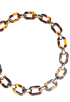 Lauren Ralph Lauren Small Tortoise Link Necklace