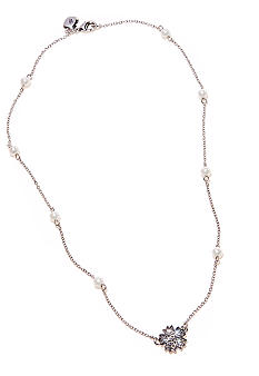 Lauren Ralph Lauren Pearl Illusion Necklace