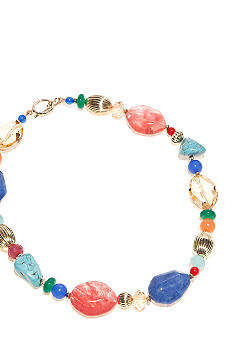 Lauren Ralph Lauren Large Multi-Beaded Necklace