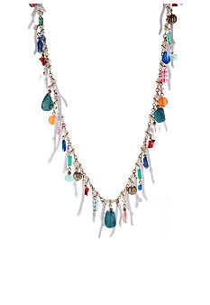 Lauren Ralph Lauren Multi-Bead with Branches Necklace