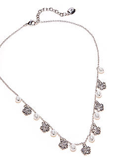 Lauren Ralph Lauren Pave Drops Necklace