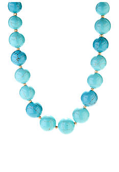Lauren Ralph Lauren Turquoise Bead Necklace