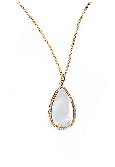 Lauren Ralph Lauren Mother of Pearl Pendant Necklace