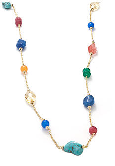 Lauren Ralph Lauren Multi-Bead Illusion Necklace