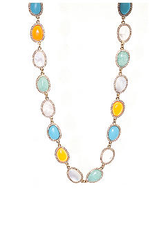 Lauren Ralph Lauren Pave Stone Necklace