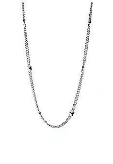 Lauren Ralph Lauren Long Chain Pyramid Stations Necklace