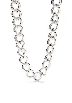 Lauren Ralph Lauren Large Curb Link Necklace