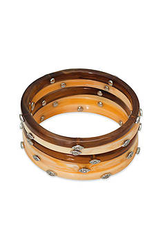 Lauren Ralph Lauren Canyon Chic 5 Bangle Set