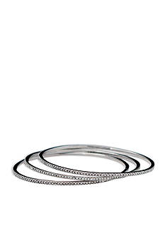 Lauren Ralph Lauren Social Set Pave Bangle Bracelets