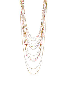 Lauren Ralph Lauren Gold-Tone Multistrand Necklace