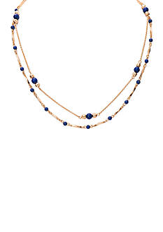 Lauren Ralph Lauren Gold-Tone Capri Collar Necklace