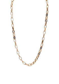 Lauren Ralph Lauren Gold-Tone Capri Chain Link Long Necklace