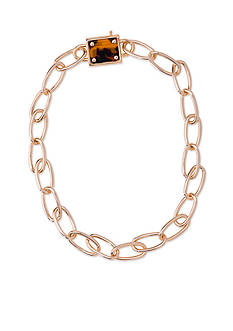 Lauren Ralph Lauren Gold-Tone Riding High Chain Link Necklace