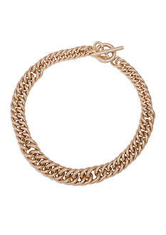 Lauren Ralph Lauren Gold-Tone Fall 16 Icons Chain Necklace