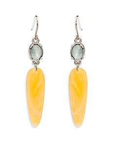 Lauren Ralph Lauren Silver-Tone Canyon Chic Drop Earrings