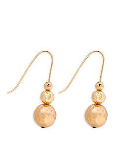 Lauren by Ralph Lauren Gold-Tone Bali Linear Earrings