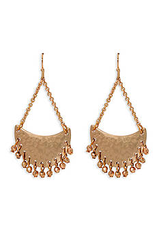 Lauren by Ralph Lauren Gold-Tone Bali Chandelier Earrings