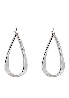 Lauren Ralph Lauren Silver-Tone Belle Isle Drop Earrings