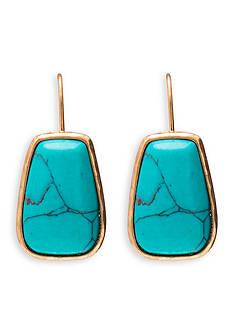 Lauren Ralph Lauren Gold-Tone Capri Drop Earrings