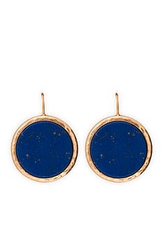 Lauren Ralph Lauren Gold-Tone Chic Disc Drop Earrings