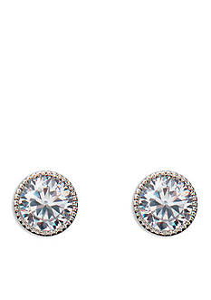 Lauren Ralph Lauren Silver-Tone Bridal Small Stud Earrings