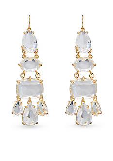 Lauren Ralph Lauren Gold-Tone Mad About Hue Chandelier Earrings