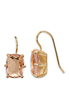 Lauren Ralph Lauren Gold-Tone Mad About Hue Topaz Drop Earrings