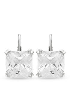 Belk Silverworks Sterling Silver Cubic Zirconia Earrings