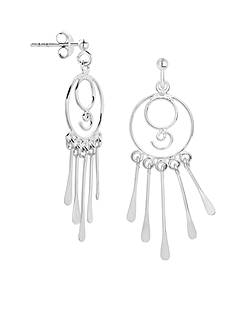 Belk Silverworks Ornate Drop Earrings