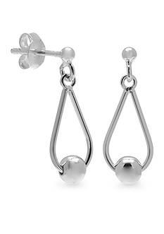 Belk Silverworks Teardrop Dangle Earrings