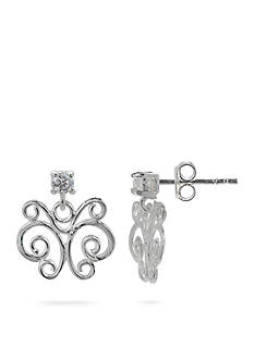 Belk Silverworks Sterling Silver Butterfly Stud Earrings