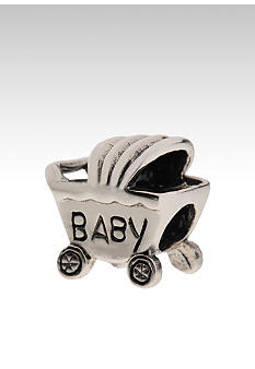 Belk Silverworks Baby Carriage Originality Bead