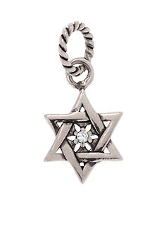 Belk Silverworks Star of David Drop Originality Charm