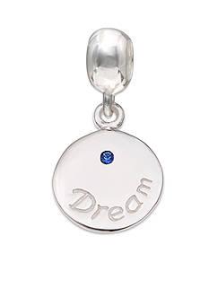 Belk Silverworks Sterling Silver Round Dream Sapphire Crystal Originality Bead