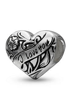 Belk Silverworks Sterling Silver I Love You Originality Bead