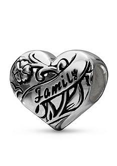 Belk Silverworks Sterling Silver Family Heart Originality Bead
