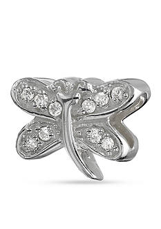 Belk Silverworks Cubic Zirconia Dragonfly Originality Bead