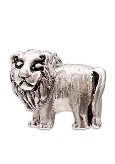 Belk Silverworks Sterling Silver Oxidized Lion Originality Bead