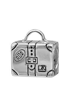 Belk Silverworks Sterling Silver Suitcase Originality Bead