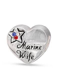 Belk Silverworks Sterling Silver Marine Wife Originality Bead
