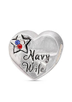 Belk Silverworks Sterling Silver Navy Wife Originality Bead