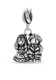 Belk Silverworks Sterling Silver Bride And Groom Originality Bead