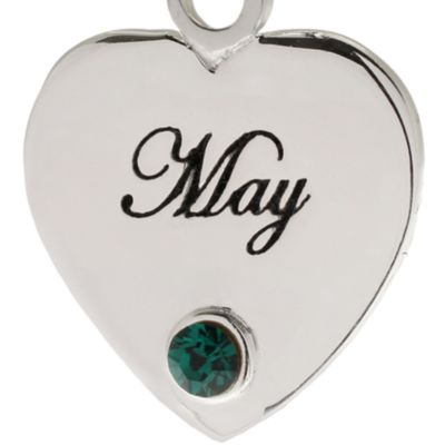Birthstone Charms and Beads: May Belk Silverworks April Originality Bead