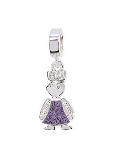 Belk Silverworks February Girl Originality Bead Charm