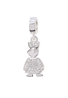 Belk Silverworks April Girl Originality Bead Charm