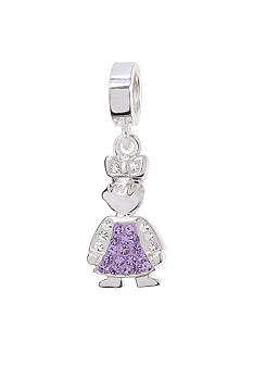 Belk Silverworks June Girl Originality Charm