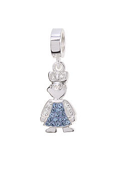 Belk Silverworks December Girl Originality Bead Charm