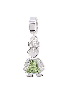 Belk Silverworks August Girl Originality Bead Charm