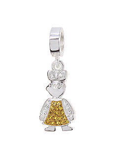 Belk Silverworks November Girl Originality Bead Charm