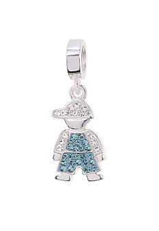 Belk Silverworks March Boy Originality Bead Charm
